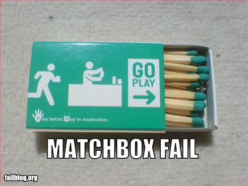 fail-owned-matchbox-fail